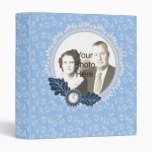 Pearls and blue Lace Photo Album Binder