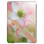Pearls and Flowers Matte Finish iPad Air Case