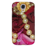 Pearls and Roses Galaxy S4 Cases