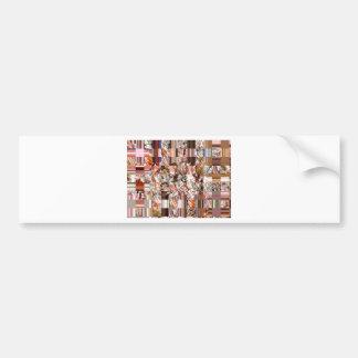 Pearls Colours Bumper Sticker