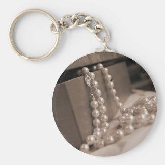 Pearls Key Chain