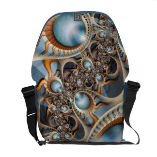 Pearls of new Rickshaw Messenger Bag