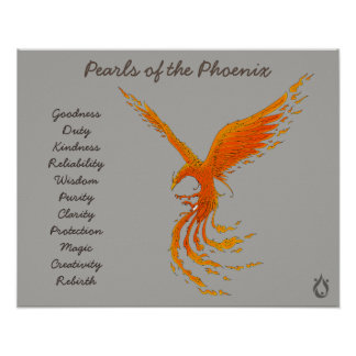 Pearls of the Phoenix Voyager Poster