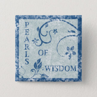 PEARLS OF WISDOM Button