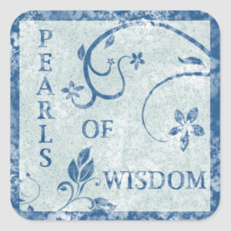 PEARLS OF WISDOM Stickers