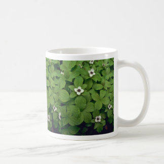 Pearls On Green Bed Mugs