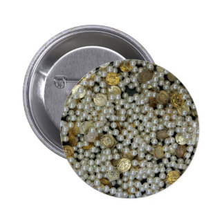 Pearls Pinback Button