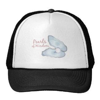 Pearls Wisdom Trucker Hat