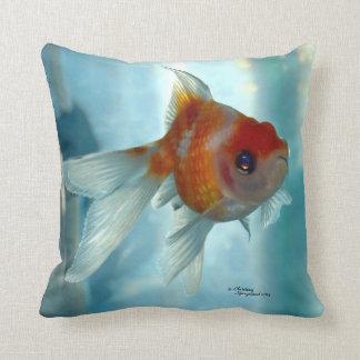 Pearlscale Oranda Goldfish Pillow