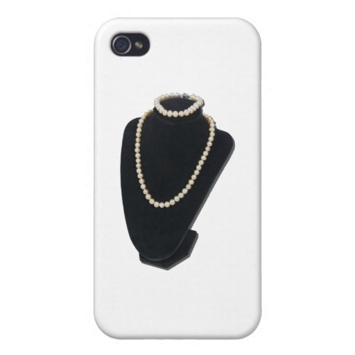PearlsNeckForm082611 iPhone 4/4S Carcasa