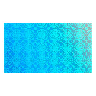Pearly Aqua Blue Business Cards Template Blank