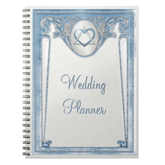 Pearly Blue (Wedding Planner) Notebook