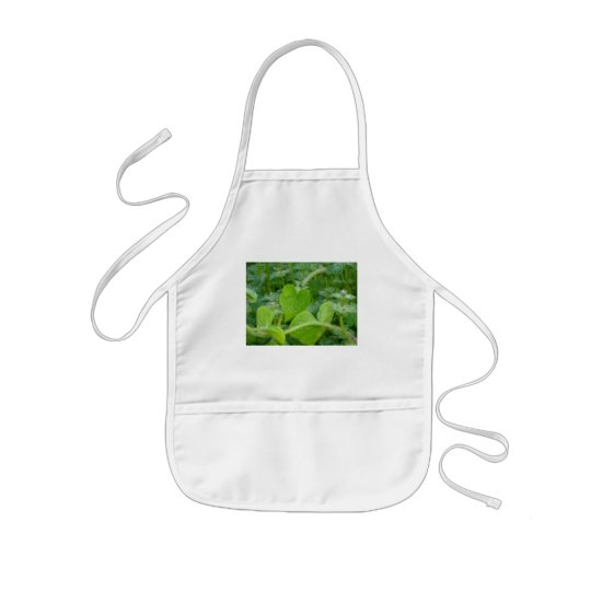 Pearly Dew Drops Kids' Apron