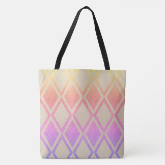 Pearly-Floral-Diamond's-TOTES Tote Bag