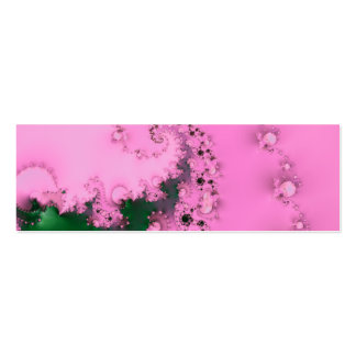 Pearly · Fractal Art · Pink Business Cards