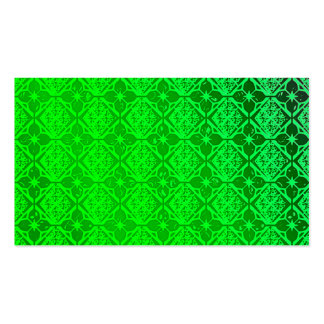 Pearly Green Business Cards Template Blank