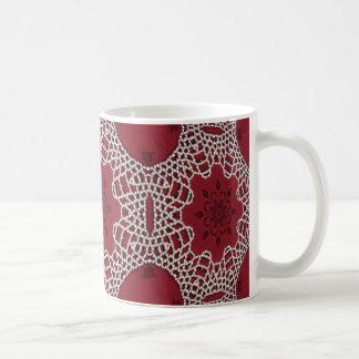 Pearly Lace Mug