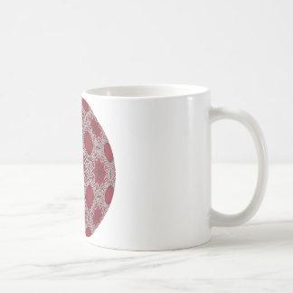 Pearly Lace Mugs