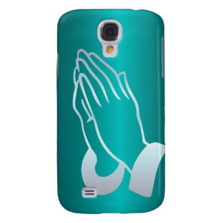 Pearly Praying Hands Galaxy S4 Cover