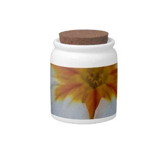Pearly Primrose Candy Jar