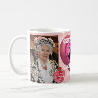 Pearly Queen Cockney Folk History Figures Parade Coffee Mug