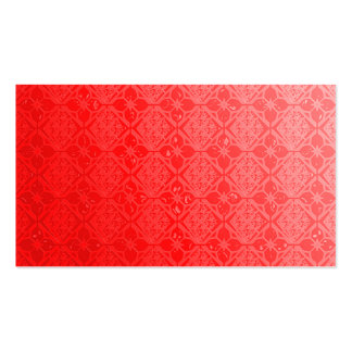 Pearly Red Business Cards Template Blank