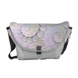 Pearly shells Rickshaw Messenger Bag