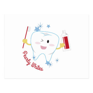 Pearly Whites Postcard