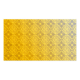 Pearly Yellow Business Cards Template Blank