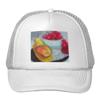 Pears and Cherries Hats