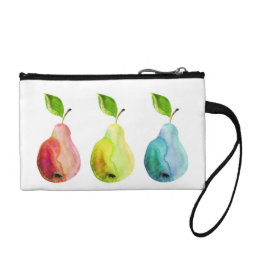 Pears and Colors Coin Purse