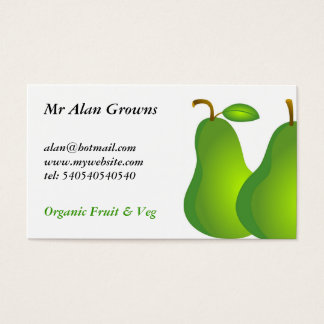 Pears Business Card