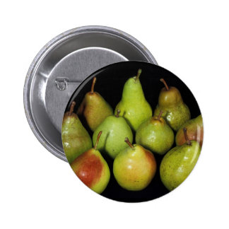 Pears 2 Inch Round Button