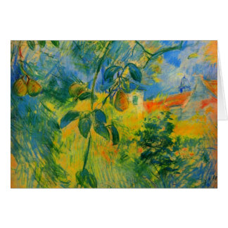 Pears by Berthe Morisot Greeting Card