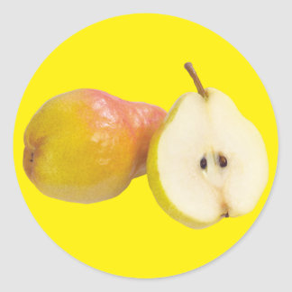 Pears Classic Round Sticker