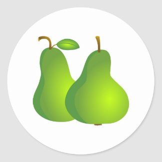Pears Classic Round Sticker