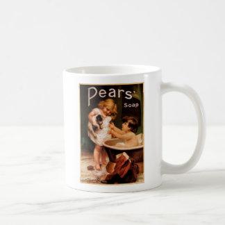 Pears cup classic white coffee mug