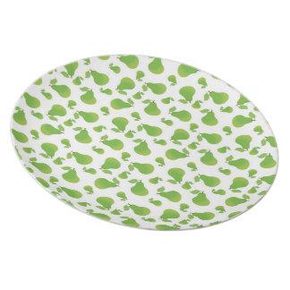 Pears-Fruit Picnic Dinner Plate