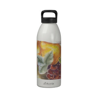 Pears & Grapes Water Bottle