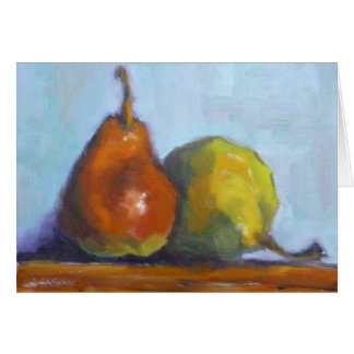 Pears Note Card