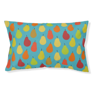Pears Pattern Art (Exclusive) Dog Bed
