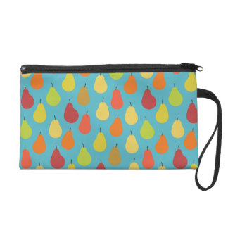 Pears Pattern Art (Exclusive) Wristlet Purse