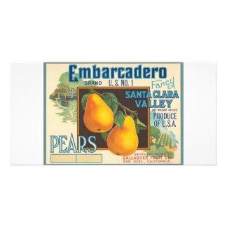 Pears Photo Card Template