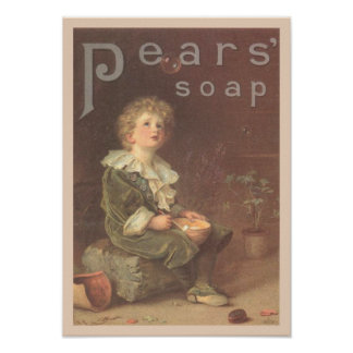 Pears Soap Bubbles Ad Poster