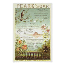 Pears Soap Nature Ad Posters