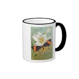 Pears Sopa Butterfly Ringer Coffee Mug