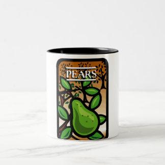Pears Two-Tone Coffee Mug