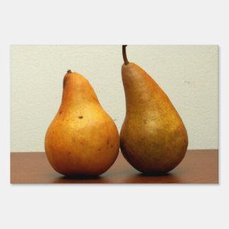 Pears Yard Sign