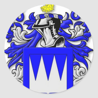 Pearsall Coat of Arms Classic Round Sticker