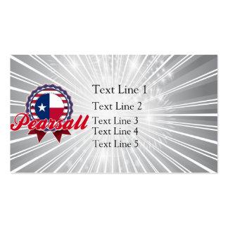 Pearsall, TX Plantillas De Tarjeta De Negocio
